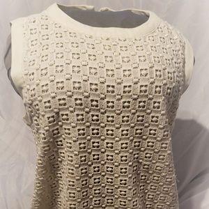 Joe Fresh Women's Dress. 12. Cream. Excellent. $12